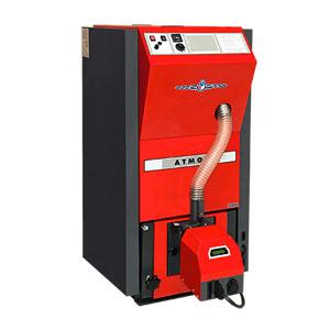 Kompaktni automaticky kotel pate tridy ATMOS na drevene pelety D25PX