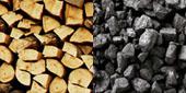 Typ paliva pro kotel ATMOS - drevo a uhli