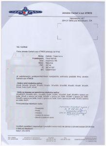 Kacirek autorizovany prodejce ATMOS - nahled