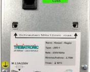 Zjisteni serioveho cisla regulatoru JER-1 ze samolepky - nahled